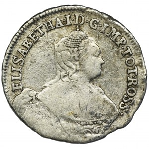 Russia, Coins minted for the Baltic provinces, Elizabeth, 24 Kopeck Moscow 1757