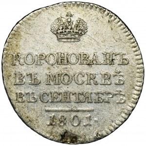 Russia, Alexander I, Coronation token Petersburg 1801