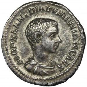 Cesarstwo Rzymskie, Diadumenian, Denar - RZADKI