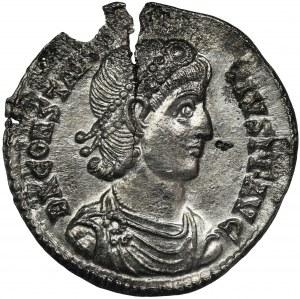 Roman Imperial, Constantius II, Siliqua
