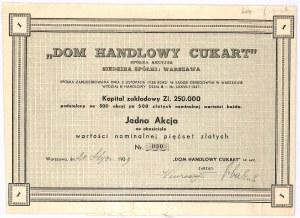 Dom Handlowy Cukart S.A. - 500 zł