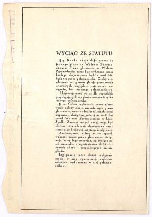 Książnica - Atlas S.A. - 100 zł, emisja I