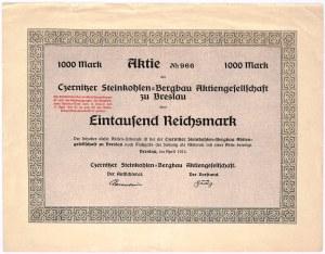 Czernitzer Steinkohlen - 1000 mk