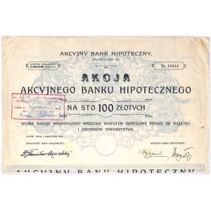 Akcyjny Bank Hipoteczny - 100 zł, 1926 rok