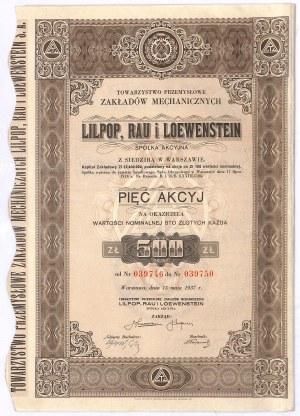 Lilpop, Rau i Loewenstein - 500 zł