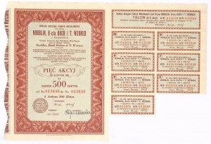 Norblin, Br. Buch i T. Werner S.A. - 500 zł