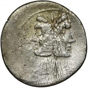 Roman Republic, C. Fonteius, Denarius