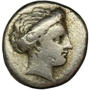 Grecja, Euboia, Chalkis, Drachma