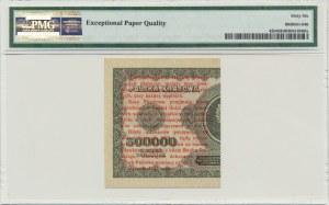1 grosz 1924 - CN - prawa połowa - PMG 66 EPQ
