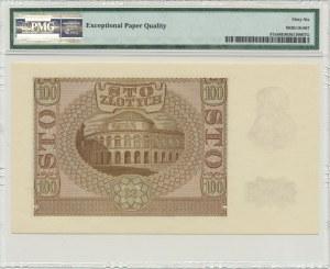 100 złotych 1940 - ZWZ - B - PMG 66 EPQ