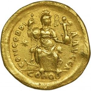 Cesarstwo Rzymskie, Honoriusz, Solidus