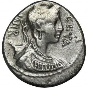 Roman Republic, C. Hosidius C.f. Geta, Denarius