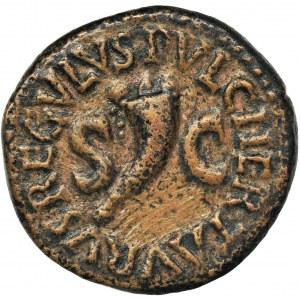 Roman Imperial, Octavian Augustus, Quadrans
