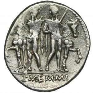 Roman Republic, L. Memmius, Denarius
