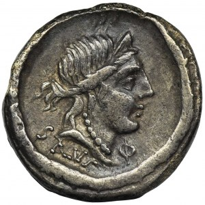 Roman Republic, D. Iunius Silanus L.f., Denarius