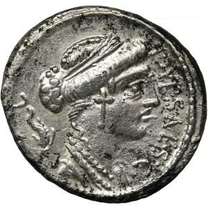 Roman Republic, P. Plautius Hypsaeus, Denarius