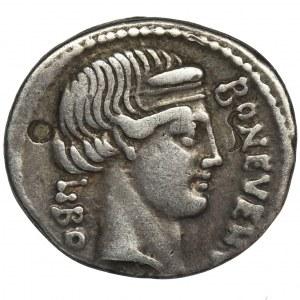 Roman Republic, L. Scribonius Libo, Denarius