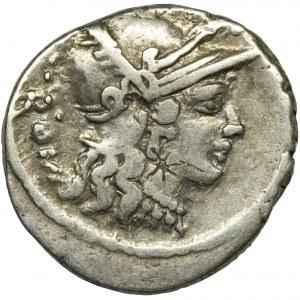 Republika Rzymska, Carisius, Denar