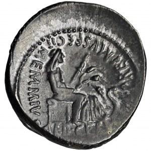 Roman Republic, C. Memmius C. f., Denarius