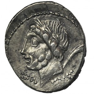 Republika Rzymska, L. Memmius Galeria, Denar