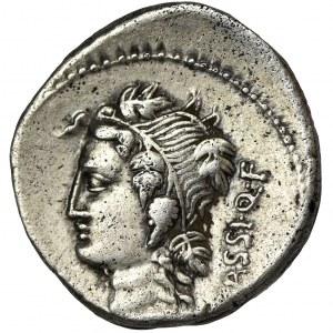 Roman Republic, L. Cassius Q. f. Longinus, Denarius