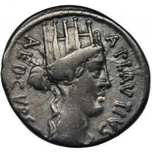 Republika Rzymska, A. Plautius, Denar