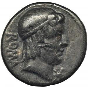 Republika Rzymska, M. Caecilius Metellus, Denar