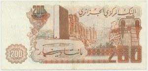 Algeria, 200 dinars 1983