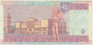 Lithuania, 20 litu 2007