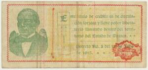 Meksyk (Rewolucyjny), 1 peso 1915