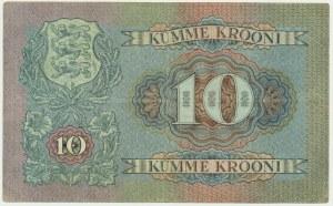 Estonia, 10 koron 1937