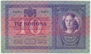 Austria, 10 koron 1904