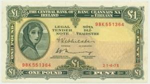 Irlandia, 1 funt (1962-68)