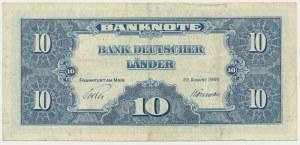 Germany, 10 mark 1949