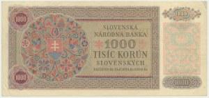 Slovakia, 1.000 korun 1940
