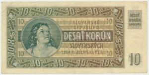 Słovakia, 10 korun 1939