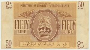 Libya (Tripolitania), 50 lires (1943)