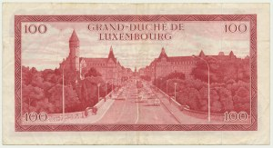 Luxembourg, 100 francs 1970