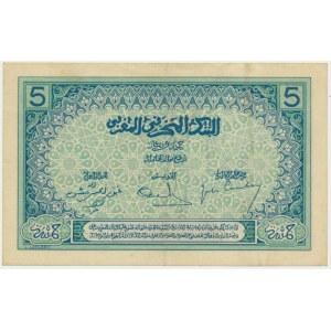 Maroko, 5 franków (1924)