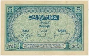 Morocco, 5 francs (1924)