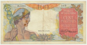 French Indochina, 100 piastres (1949-54)