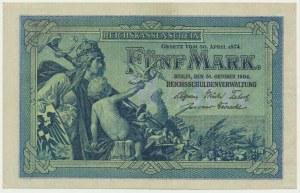 Germany, 5 mark 1904