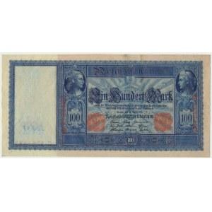 Niemcy, 100 marek 1910