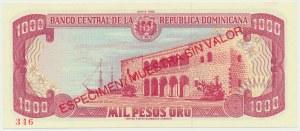 Dominikana, 1.000 pesos 1988 - WZÓR -