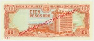 Dominikana, 100 pesos 1988 - WZÓR -