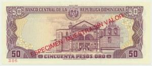 Dominikana, 50 pesos 1988 - WZÓR -