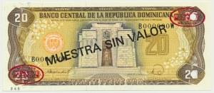 Dominikana, 20 pesos 1988 - WZÓR -