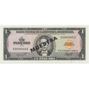 Dominikana, 1 peso (1964-73)