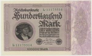 Germany, 100.000 mark 1923