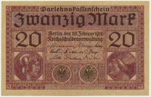 Niemcy, 20 marek 1918